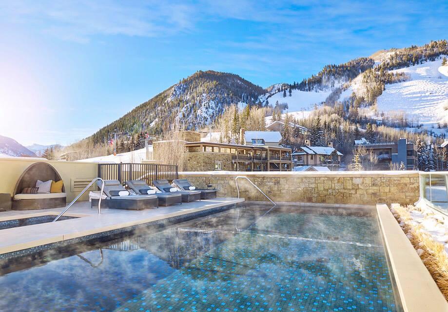 The Little Nell hotel in Aspen, Colorado