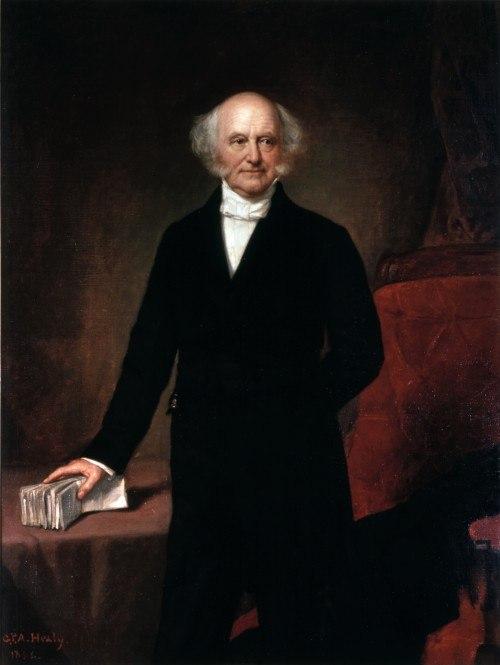 Martin Van Buren portrait