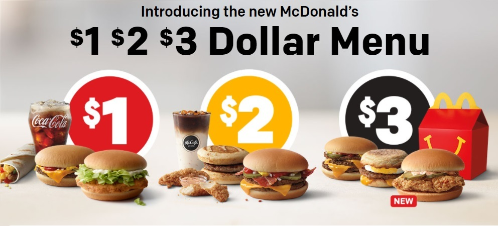 McDonald's New and Improved Dollar Menu Is Back and Better Than Ever