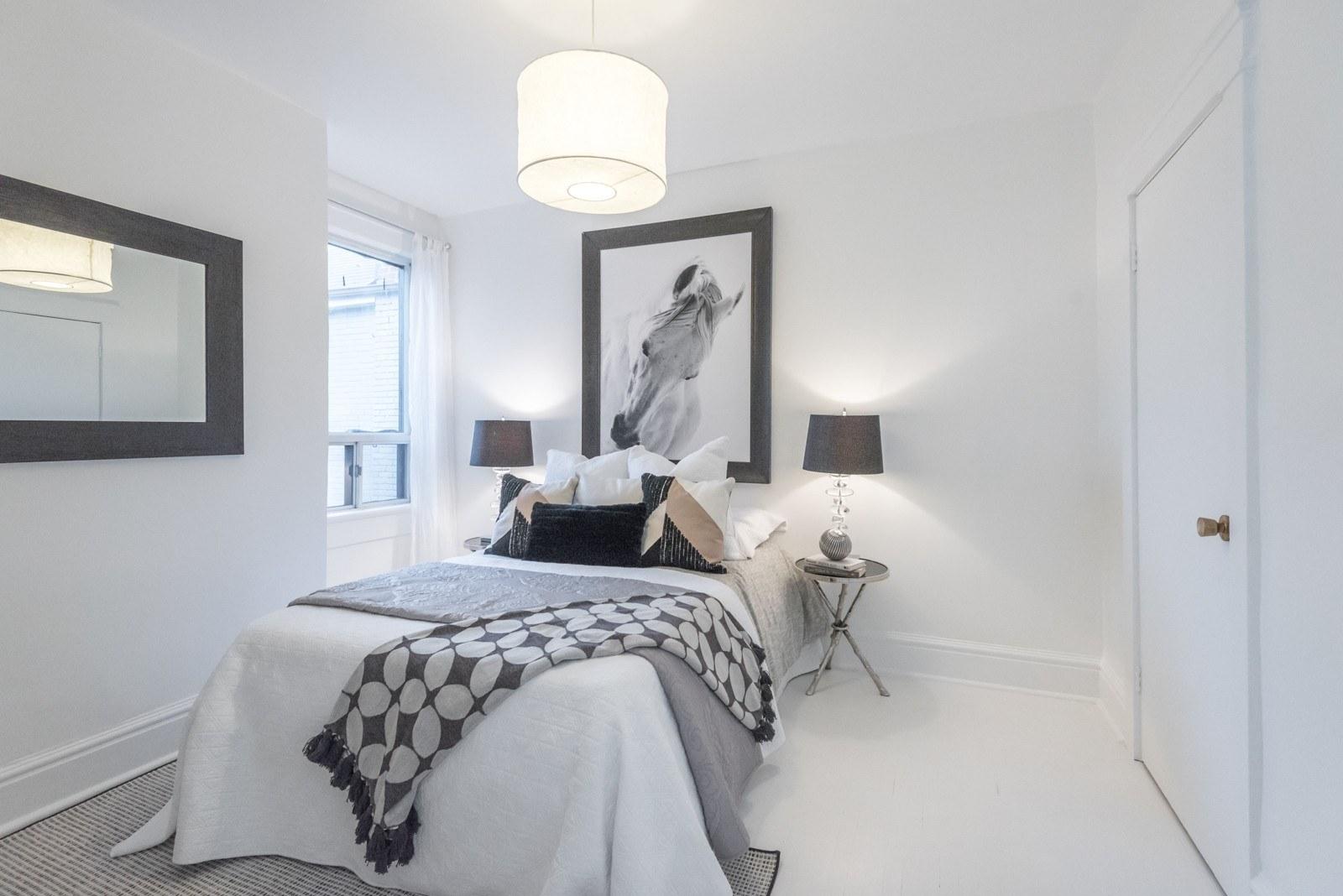 Meghan Markle House Toronto bedroom