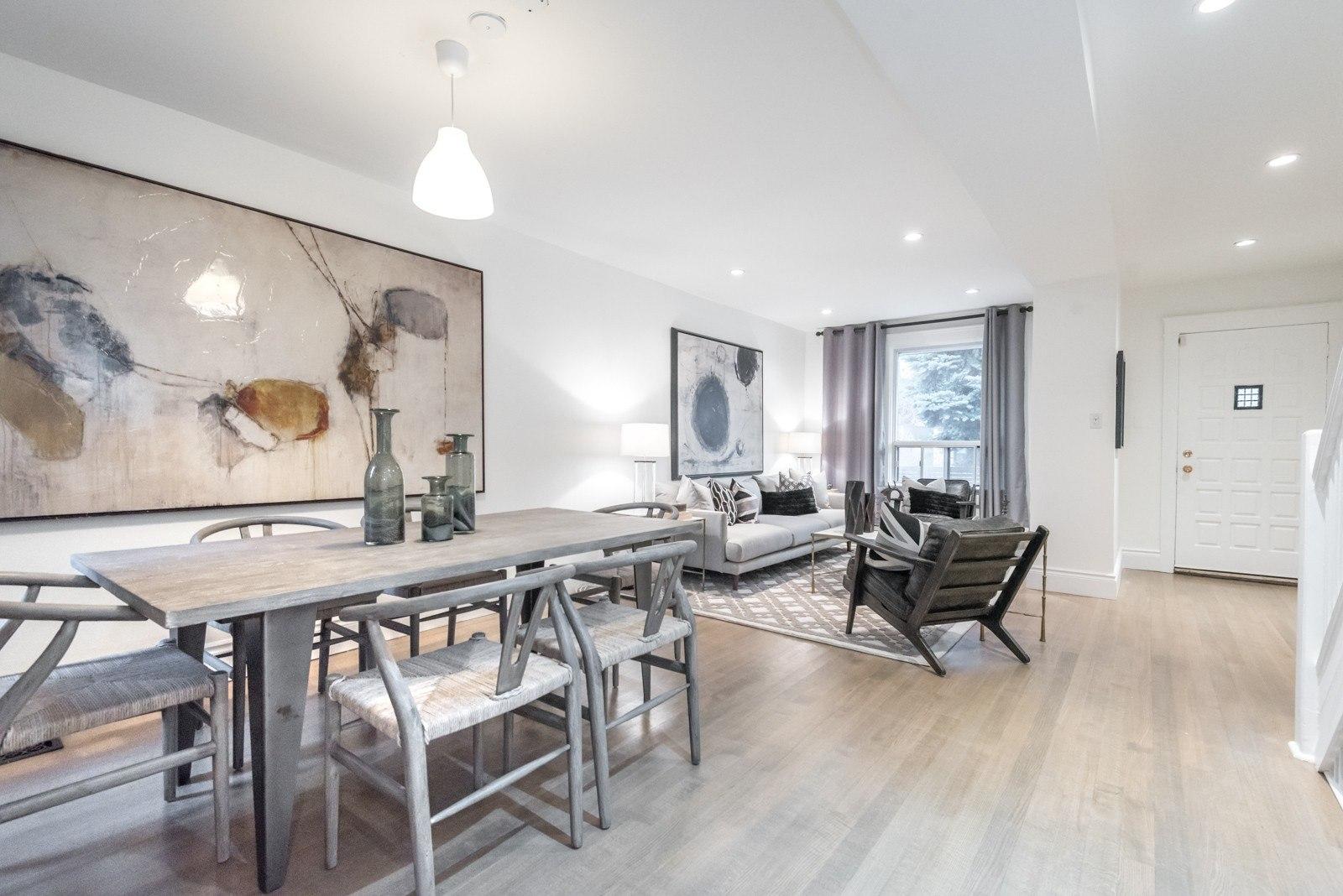 Meghan Markle House Toronto living