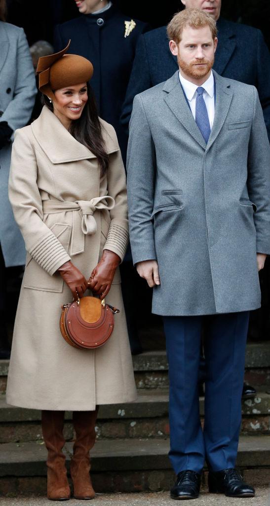 Meghan Markle and Prince Harry at Christmas