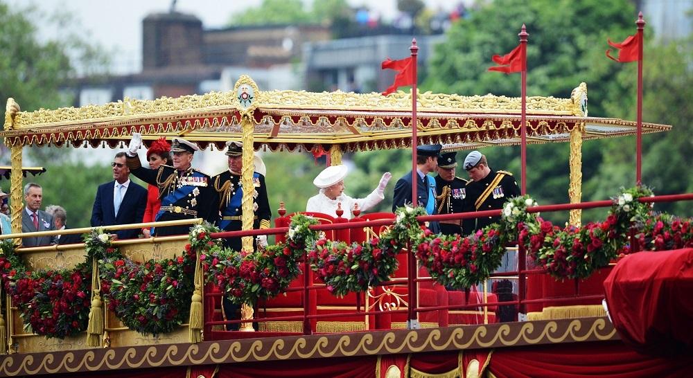 Members of the British royal family