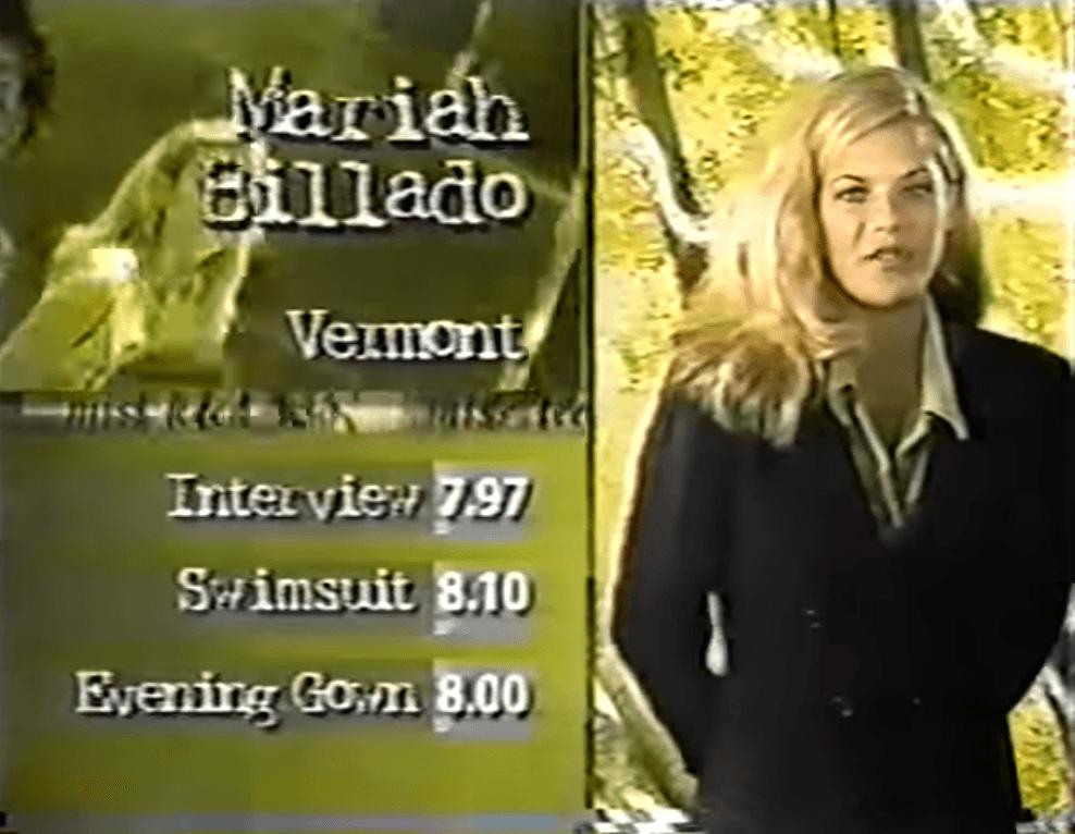 Mariah Eillado Miss Teen Vermont 1997