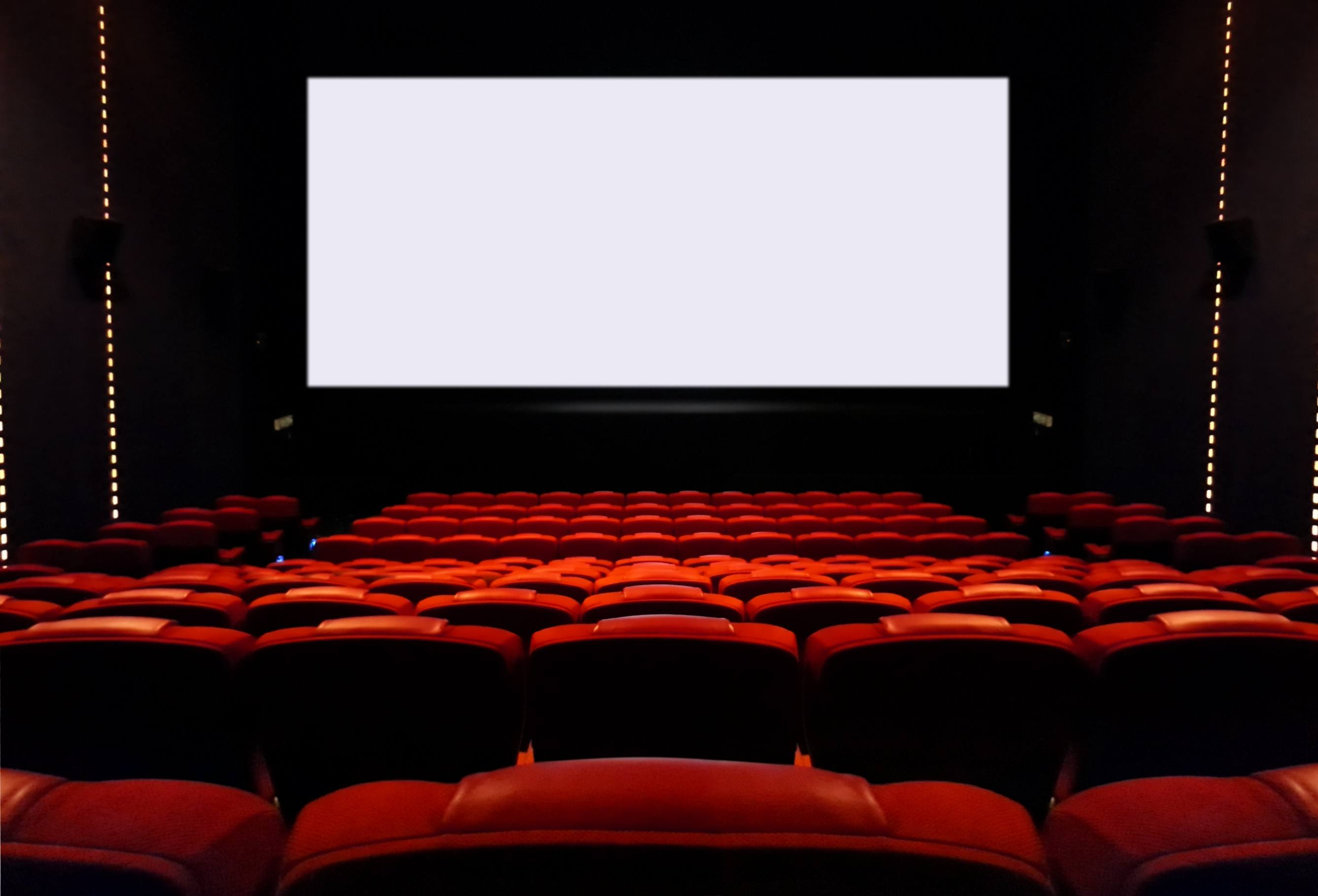 screen hollywood theater movie cinema blank seats empty body cleaner believe