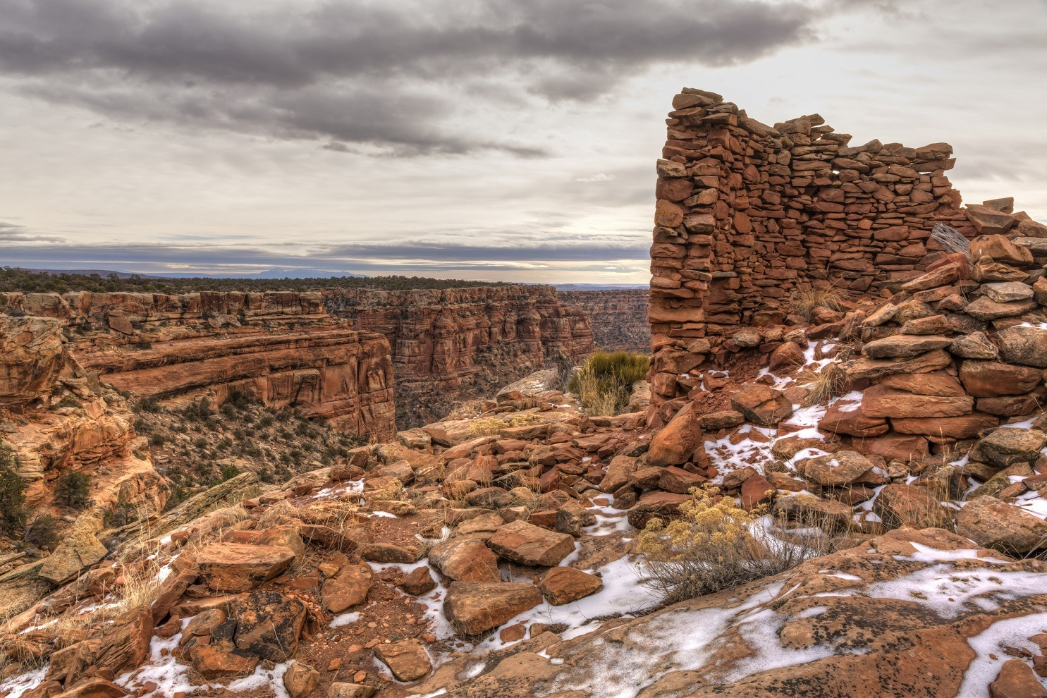 Tower Ruin on Mule Canyon Bears Ears