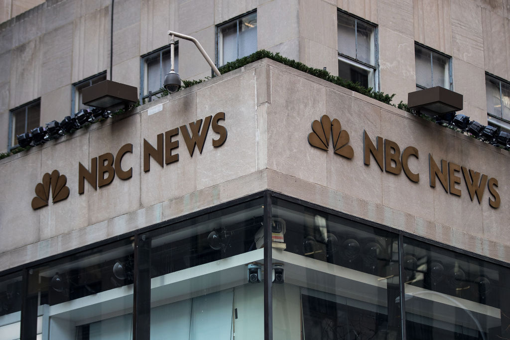 Front of NBC Rockefeller Center
