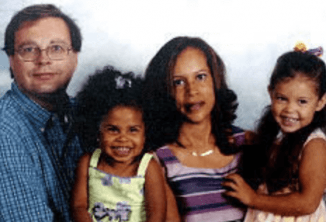 Nancy Andrews and her family.