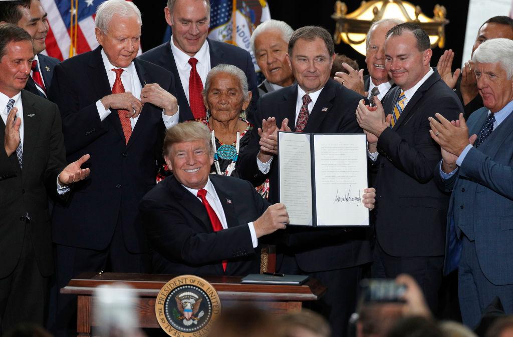 President Trump Shrinks national monument