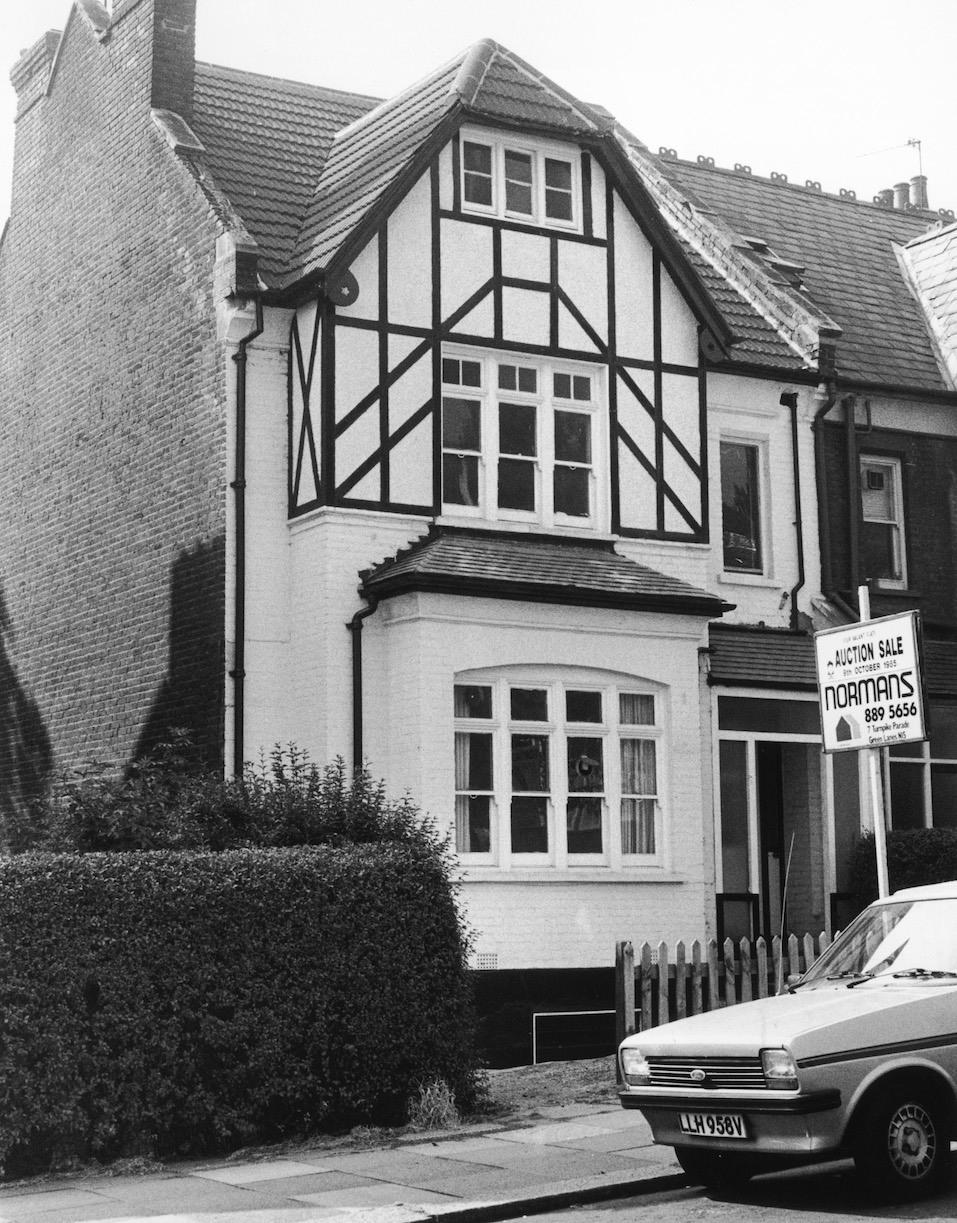 Homes of British serial killer Dennis Nilsen