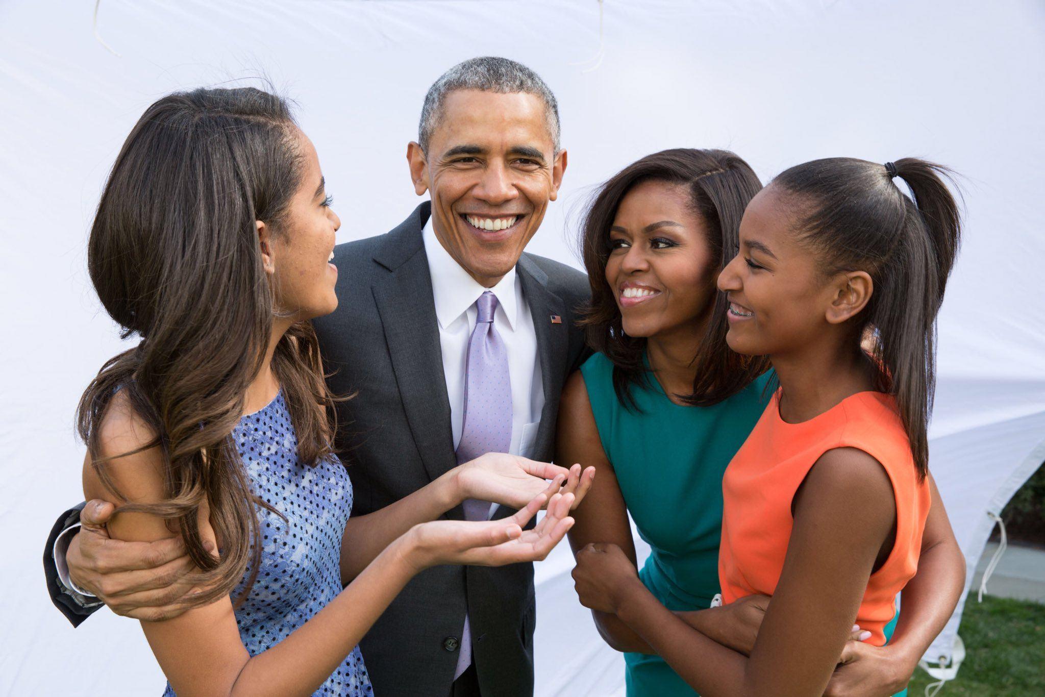 Obama Family Thanksgiving