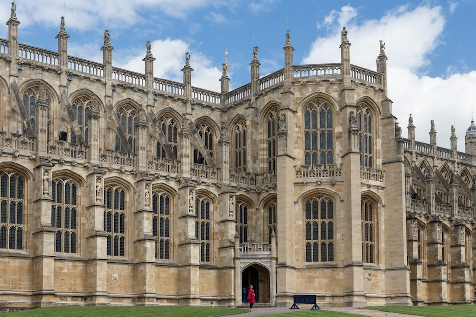 Windsor Castle is the family home to British kings and queens for over 1,000 years