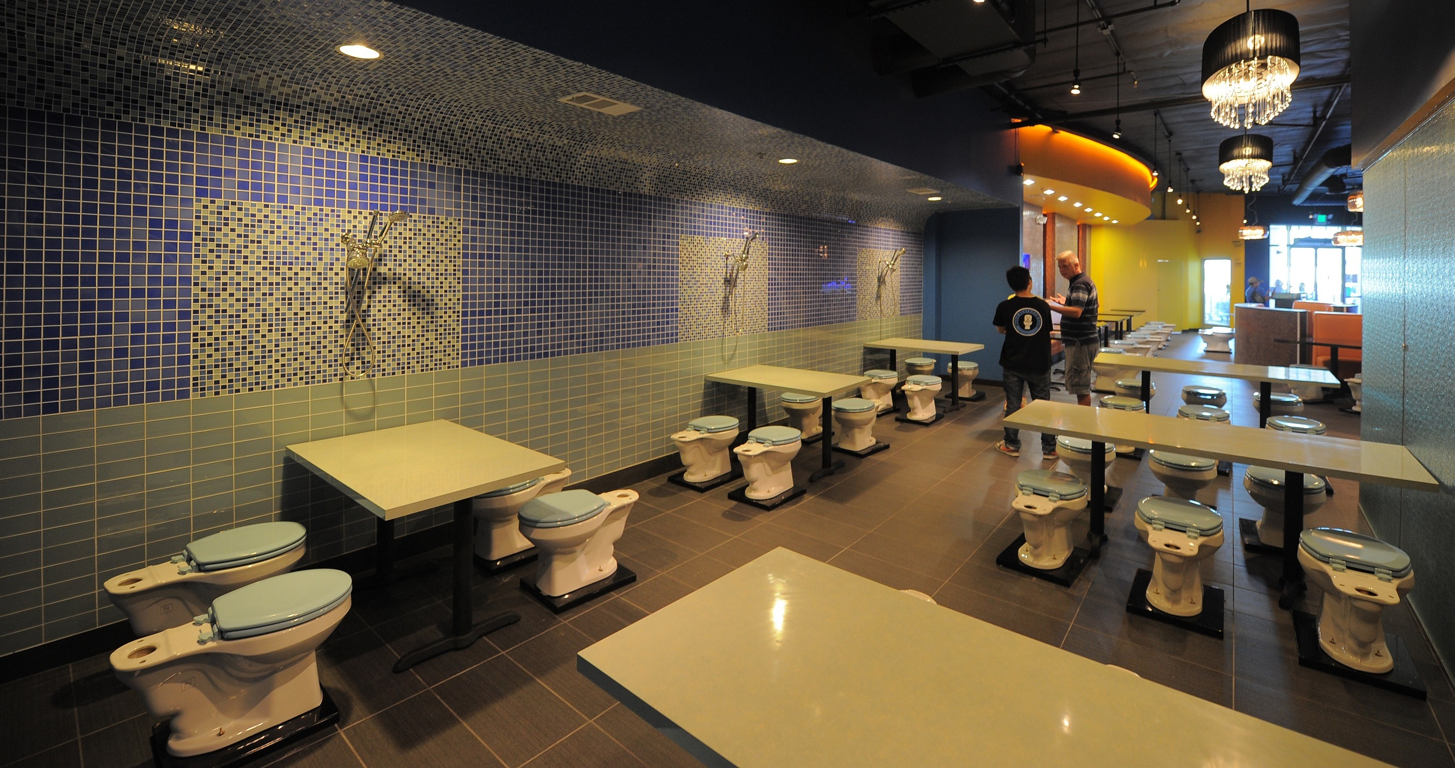 Magic Restroom poop cafe
