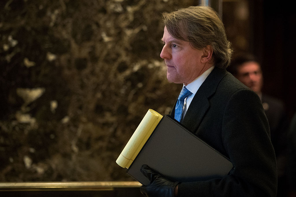 Don McGahn, White House Counsel to President-elect Donald Trump