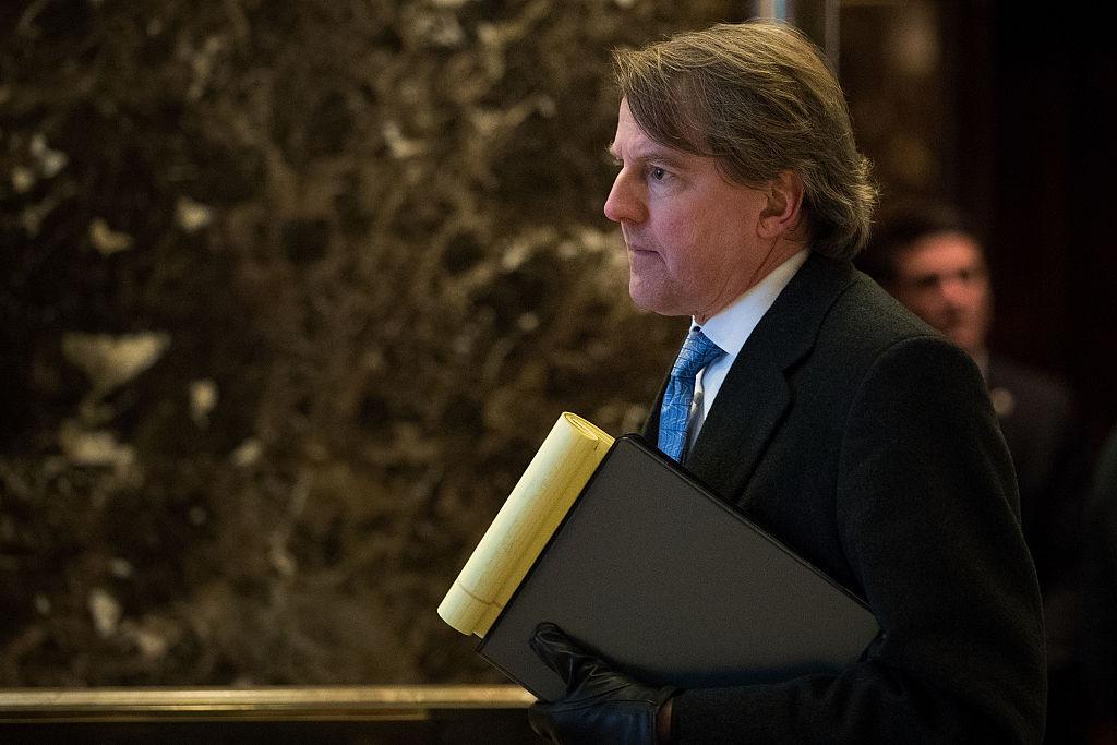Don McGahn, White House Counsel to President-elect Donald Trump