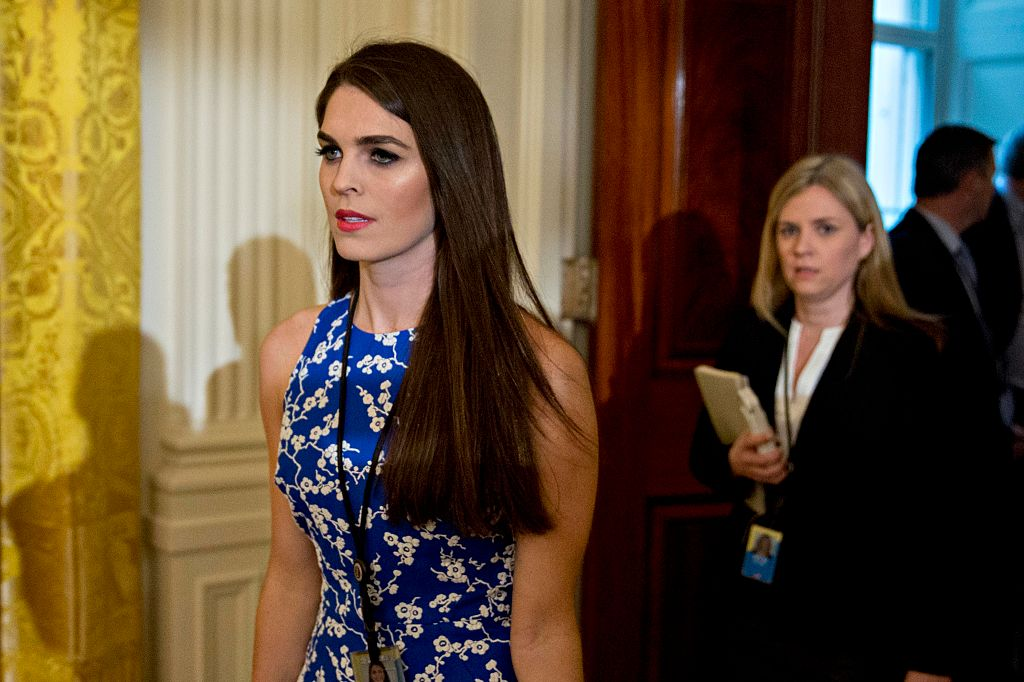 Hope Hicks, White House director of strategic communications