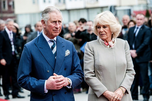 The Prince of Wales, Charles (L) and his wife Camilla the Duchess of Cornwall