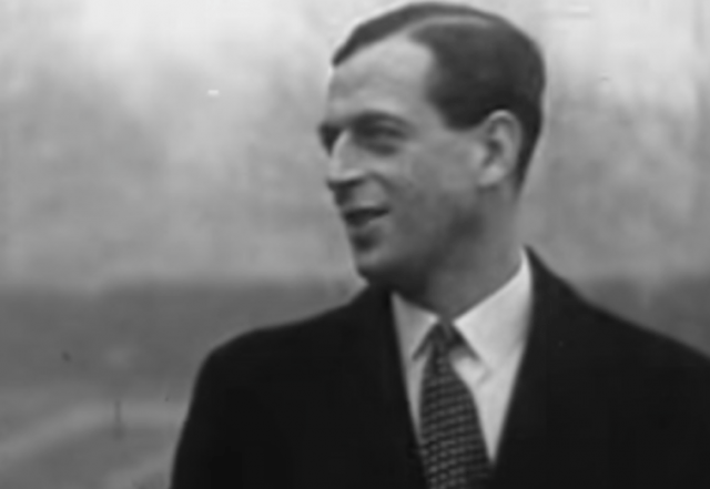 Prince George of Kent in a suit.