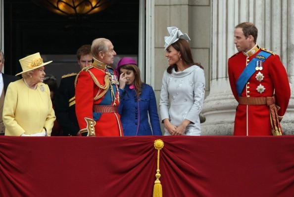 Prince William and Princess Beatrice