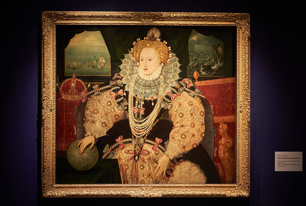Queen Elizabeth I painting