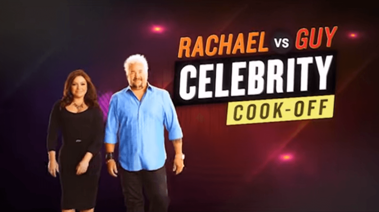 Rachael Ray and Guy Fieri Cookoff