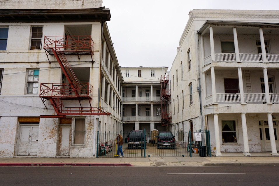 Downtown Apartment still stands for Residences living near the Mexican Borde