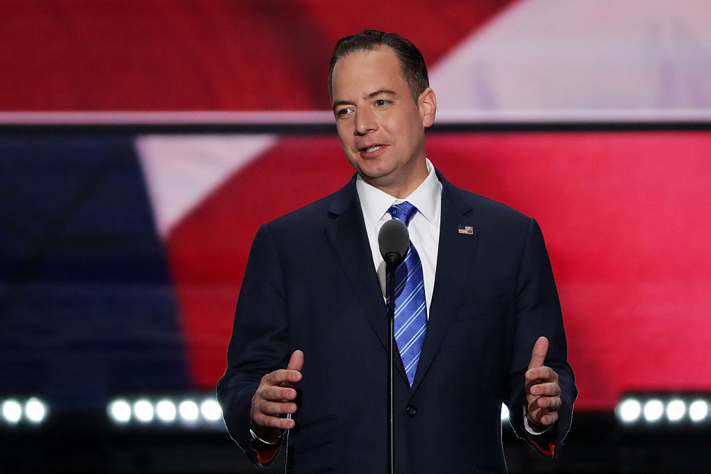 Reince Priebus, chairman of the Republican National Committee