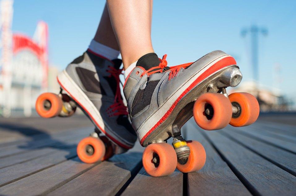 Roller skating