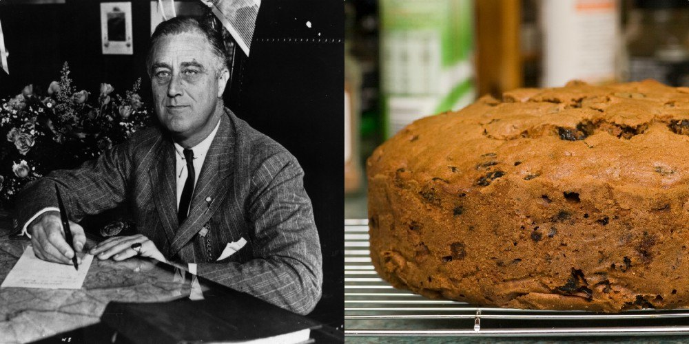 Franklin Roosevelt Fruitcake
