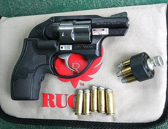 Ruger LCR gun