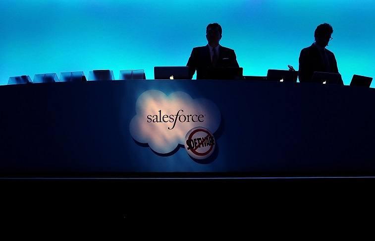 Salesforce sign