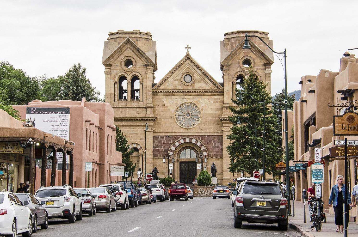 Santa Fe, New Mexico church