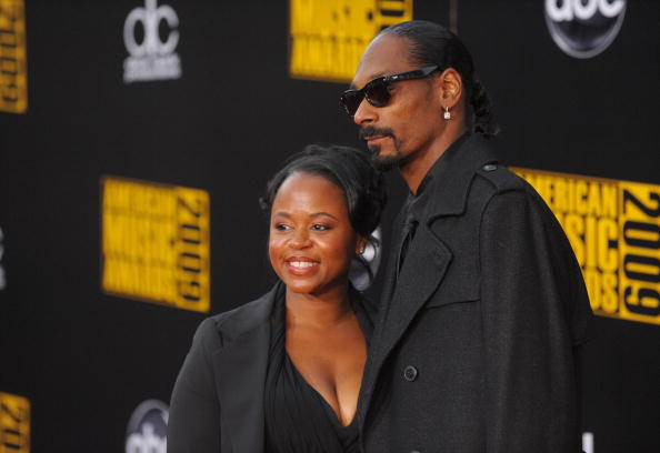 Snoop Dogg and Shante Broadus