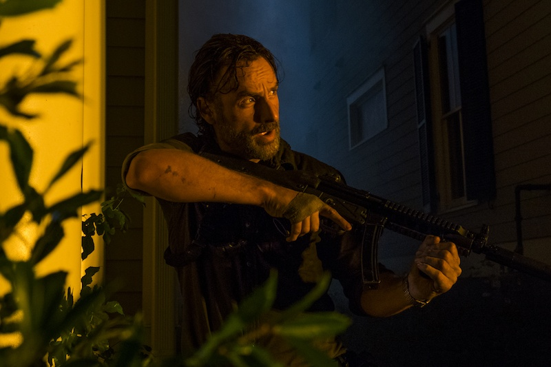 Andrew Lincoln as Rick Grimes in The Walking Dead Season 8