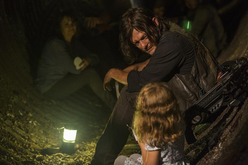 Norman Reedus as Daryl Dixon, Baby Judith