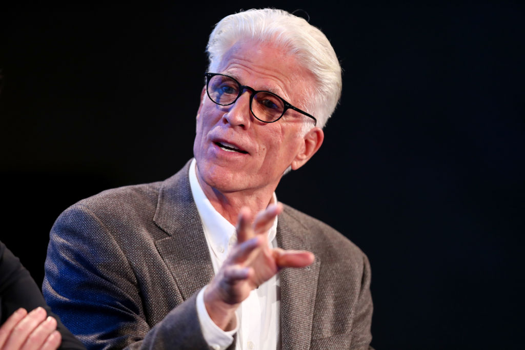 Ted Danson speaks