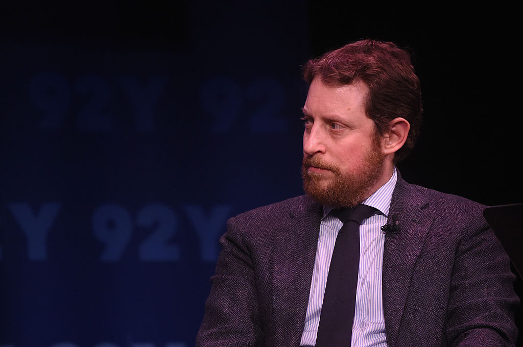 Writer Scott M. Gimple speaks onstage at The Walking Dead: Screening and Conversation