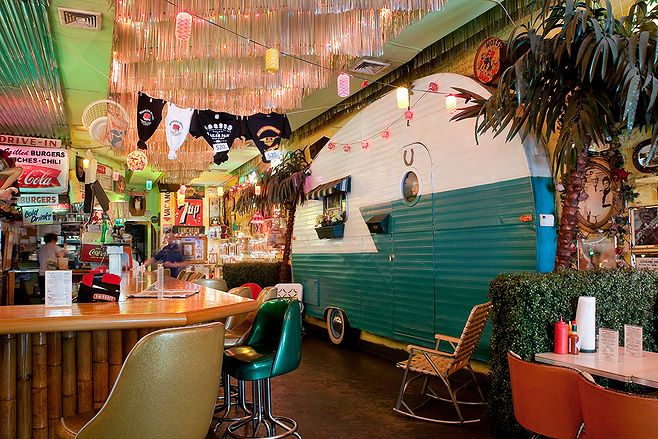 'the original' TRAILER PARK LOUNGE & GRILL, NEW YORK CITY
