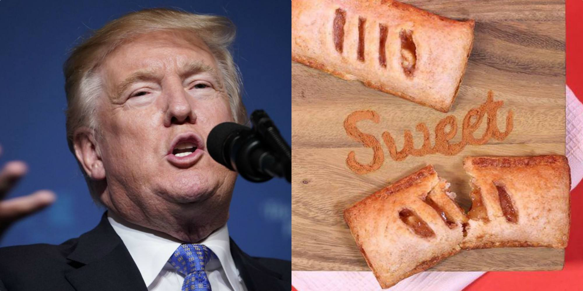 Trump Mcdonalds Pie