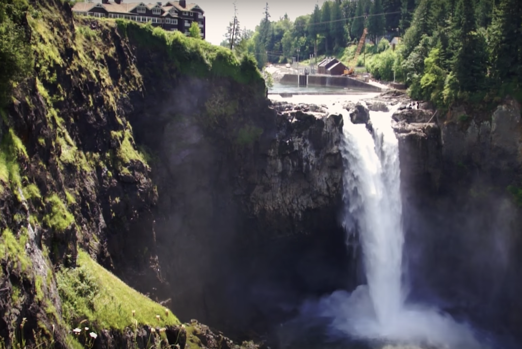 Snoqualmie Falls from Twin Peaks
