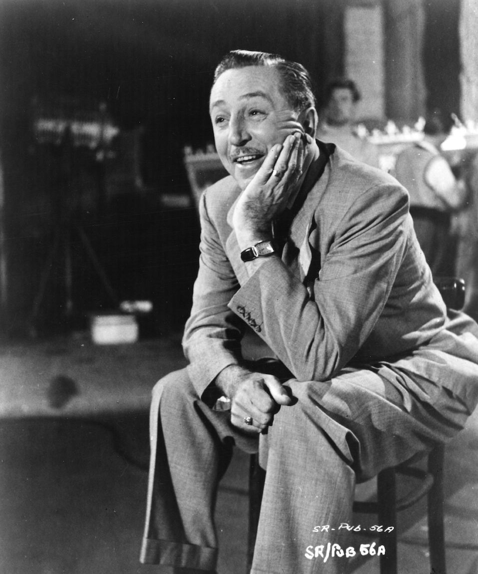 American animator and director Walt Disney