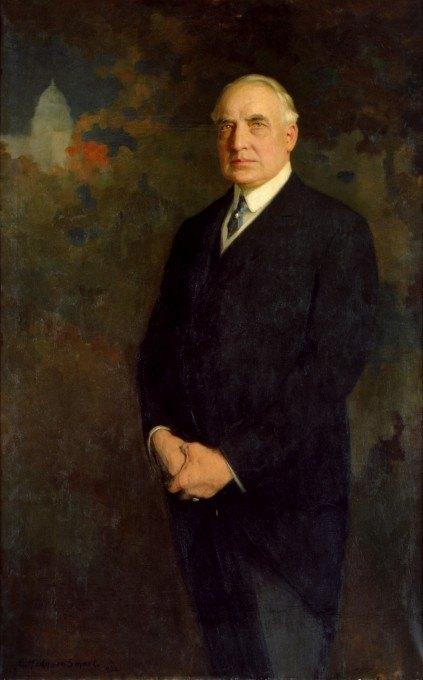 Warren G. Harding portrait