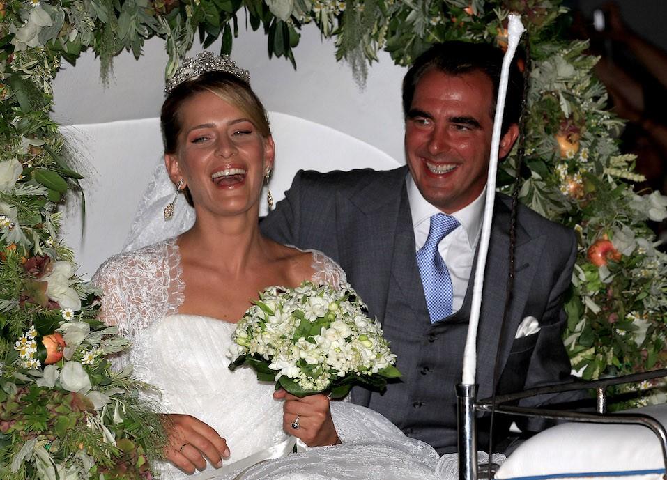 Prince Nikolaos of Greece and Princess Tatiana of Greece and Denmark