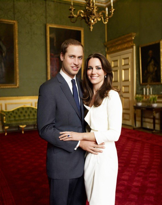 Kate Middleton and Prince William engagement photo
