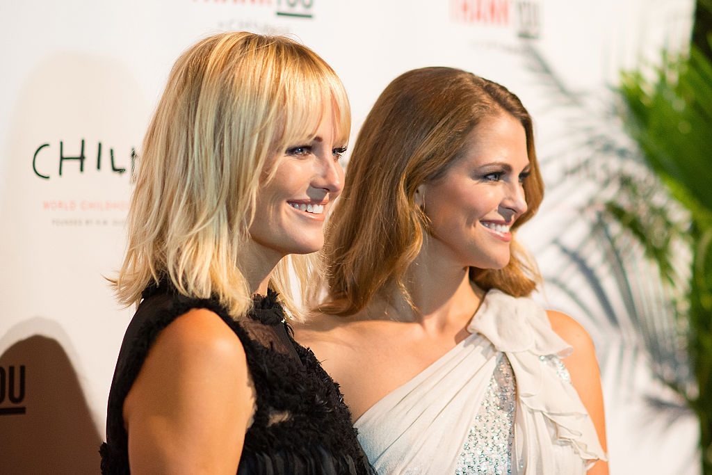 Actress Malin Akerman (L) and HRH Princess Madeleine attend the World Childhood Foundation USA Thank You Gala 2016