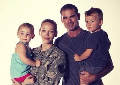 Addie Zinone and her family