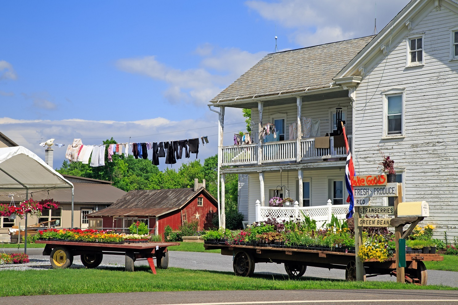 Amish roadside Market