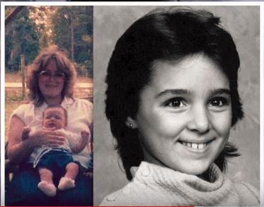Korrina Lynne Sagers Malinoski and her daughter Annette