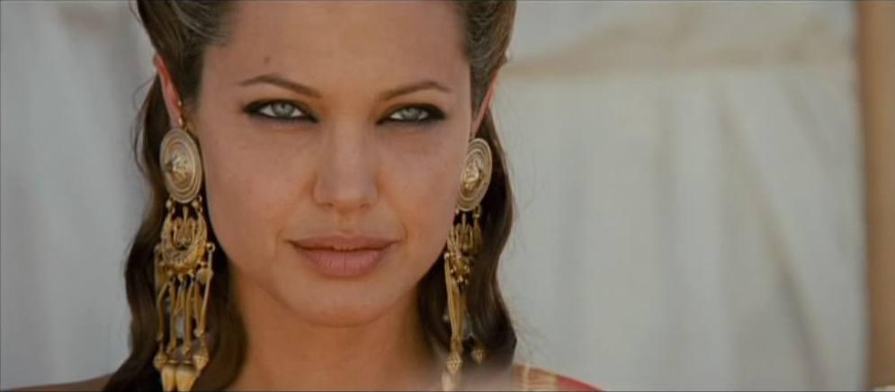 Angelina Jolie as Queen Olympias in Alexander