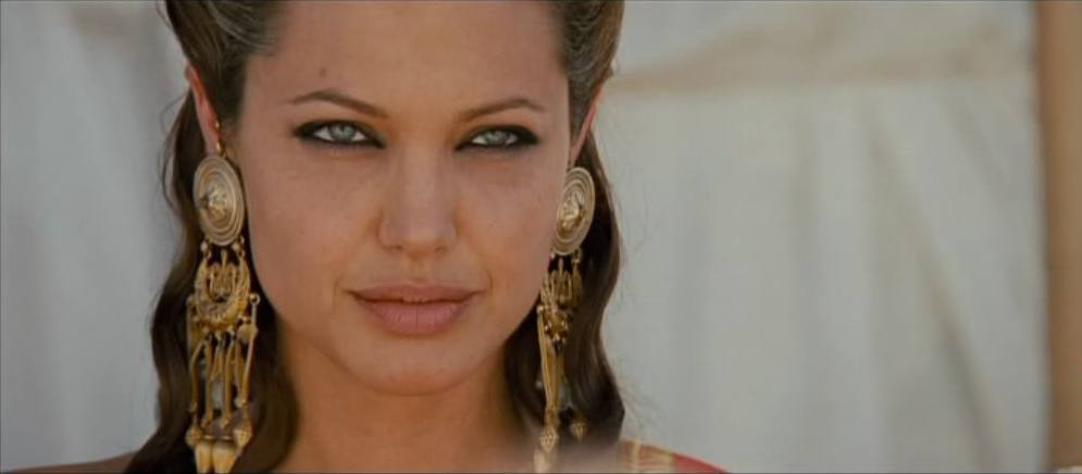 Angelina Jolie as Queen Olympias in Alexander